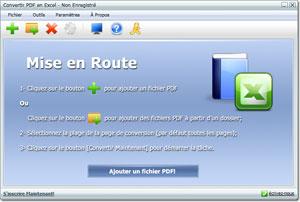Convertir PDF en Excel (Logiciel) - Convertisseur de PDF en Excel -  Télécharger